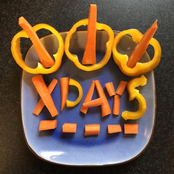 X-DAYS Paprika clean eating